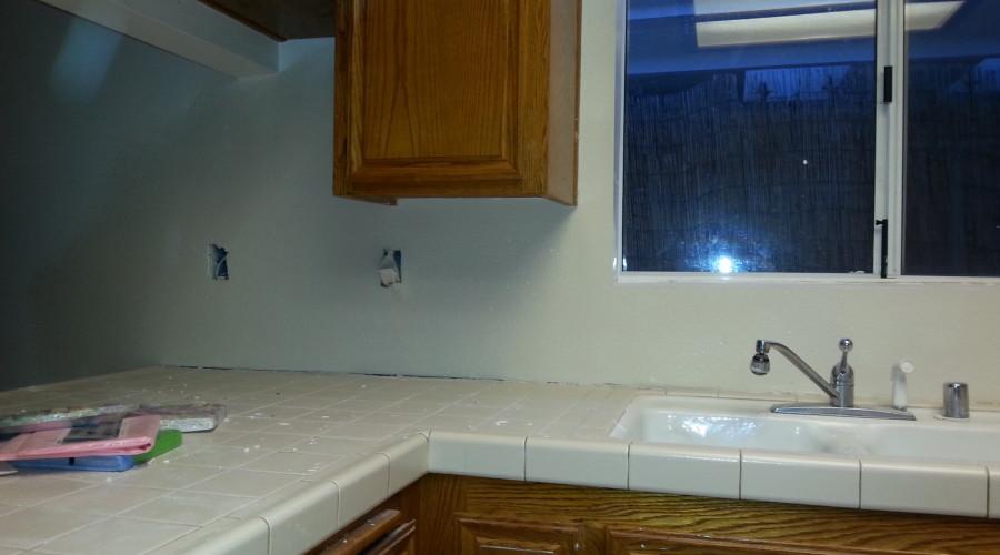 After Photo #2 - Kitchen Backsplash Drywall Repair